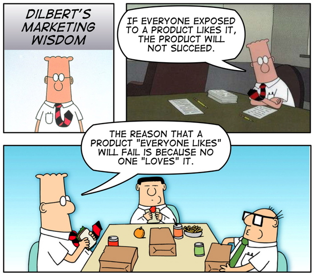 Dilbert Marketing Wisdom