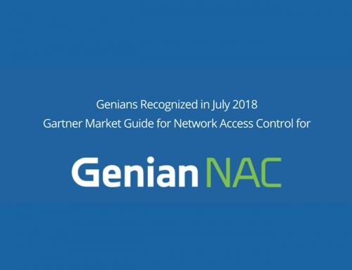 Genians Named a Representative Vendor in Gartner 2018 Market Guide for Network Access Control