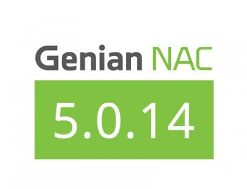 Genian NAC 5.0.14 Release