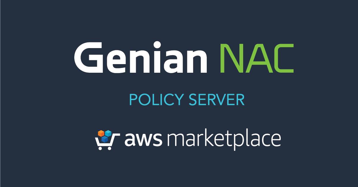 Genian NAC Policy Server AWS Marketplace